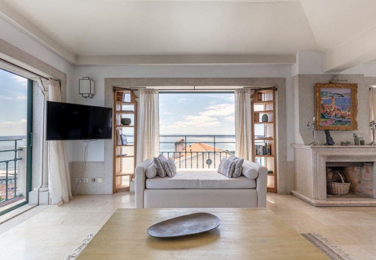 Apartamento em Lisboa - Penthouse Terrace 360º Lisbon View 1 by Lisbonne Collection