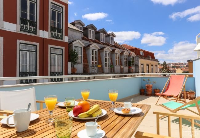 Apartamento em Lisboa - Principe Real Terrace 2 by Lisbonne Collection