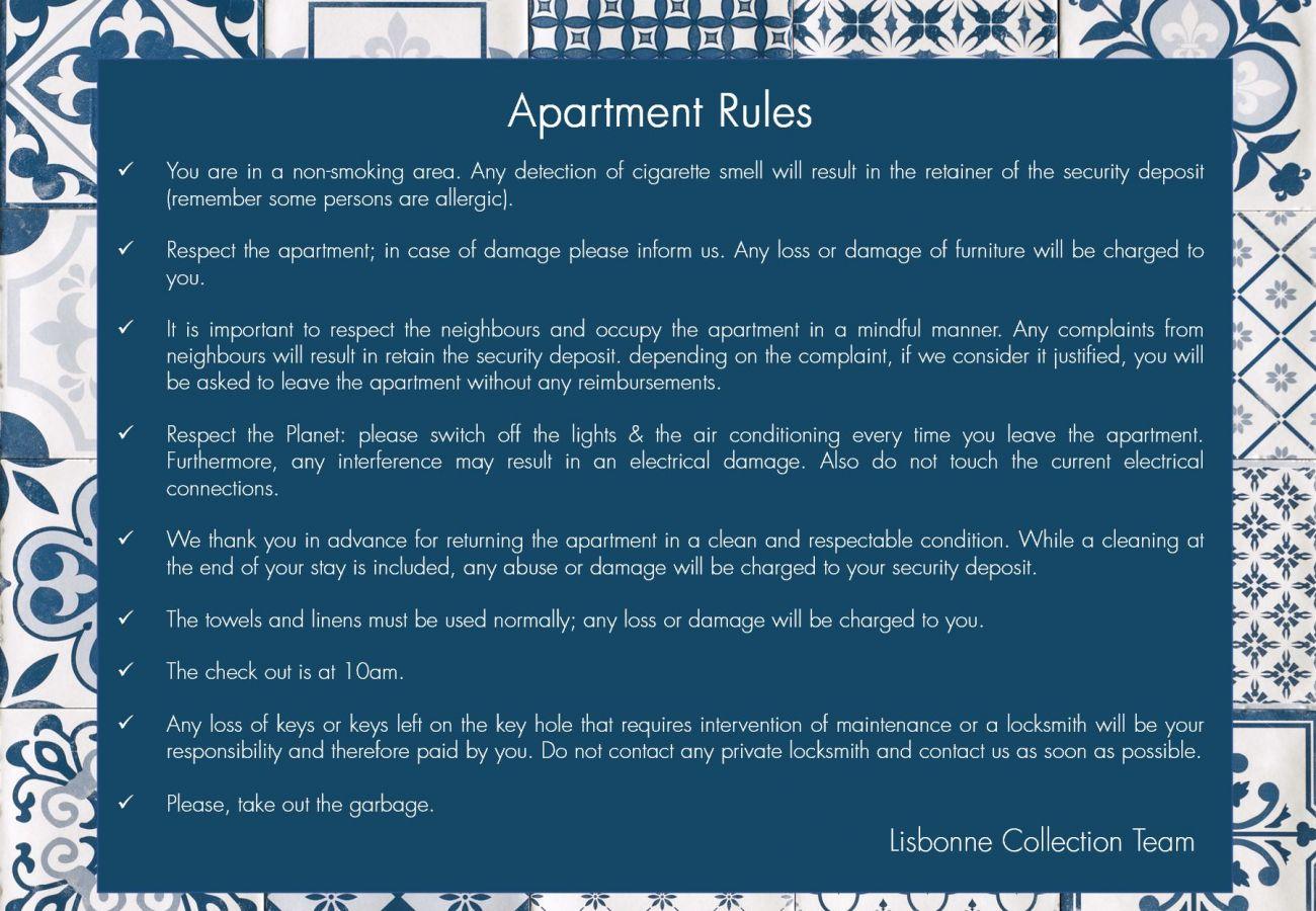 Apartamento em Lisboa - Azulejos' Charming Apartment with Terrace 2 by Lisbonne Collection