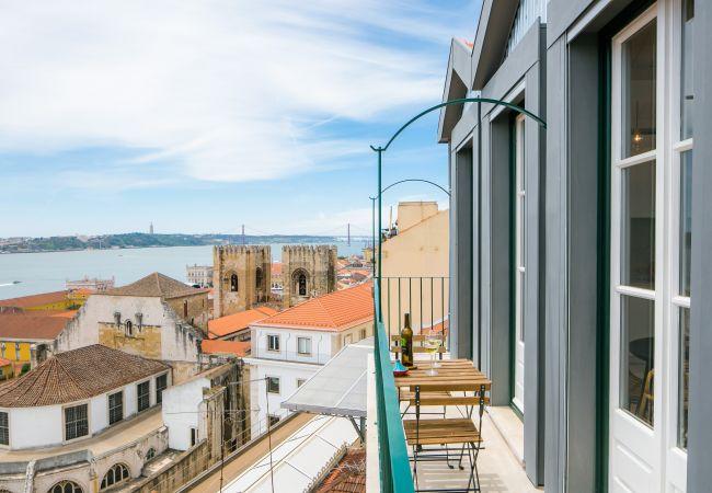 Apartamento em Lisboa - Alfama Terrace River view 12 by Lisbonne Collection