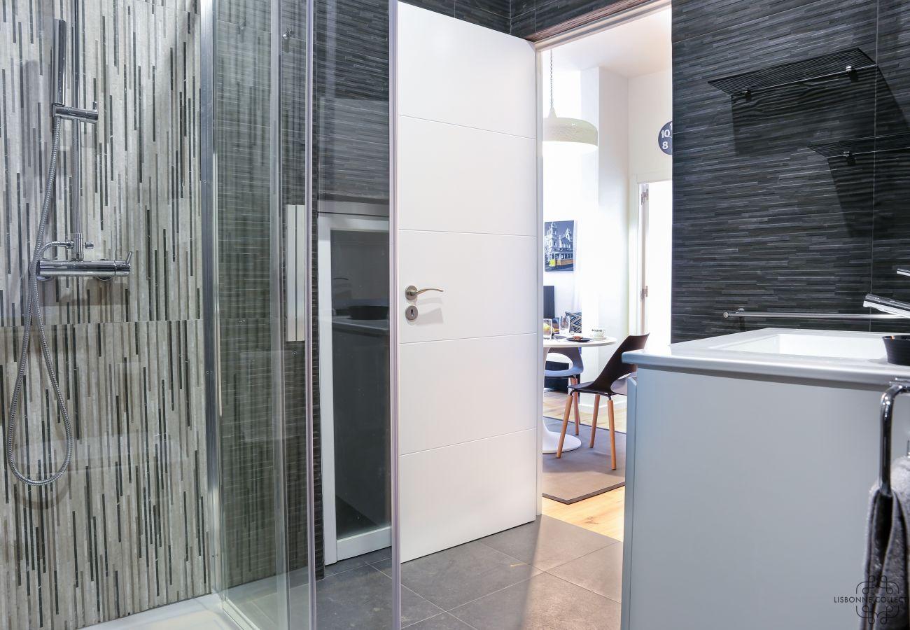 banheiro ultra moderno e design completamente renovado em Graça