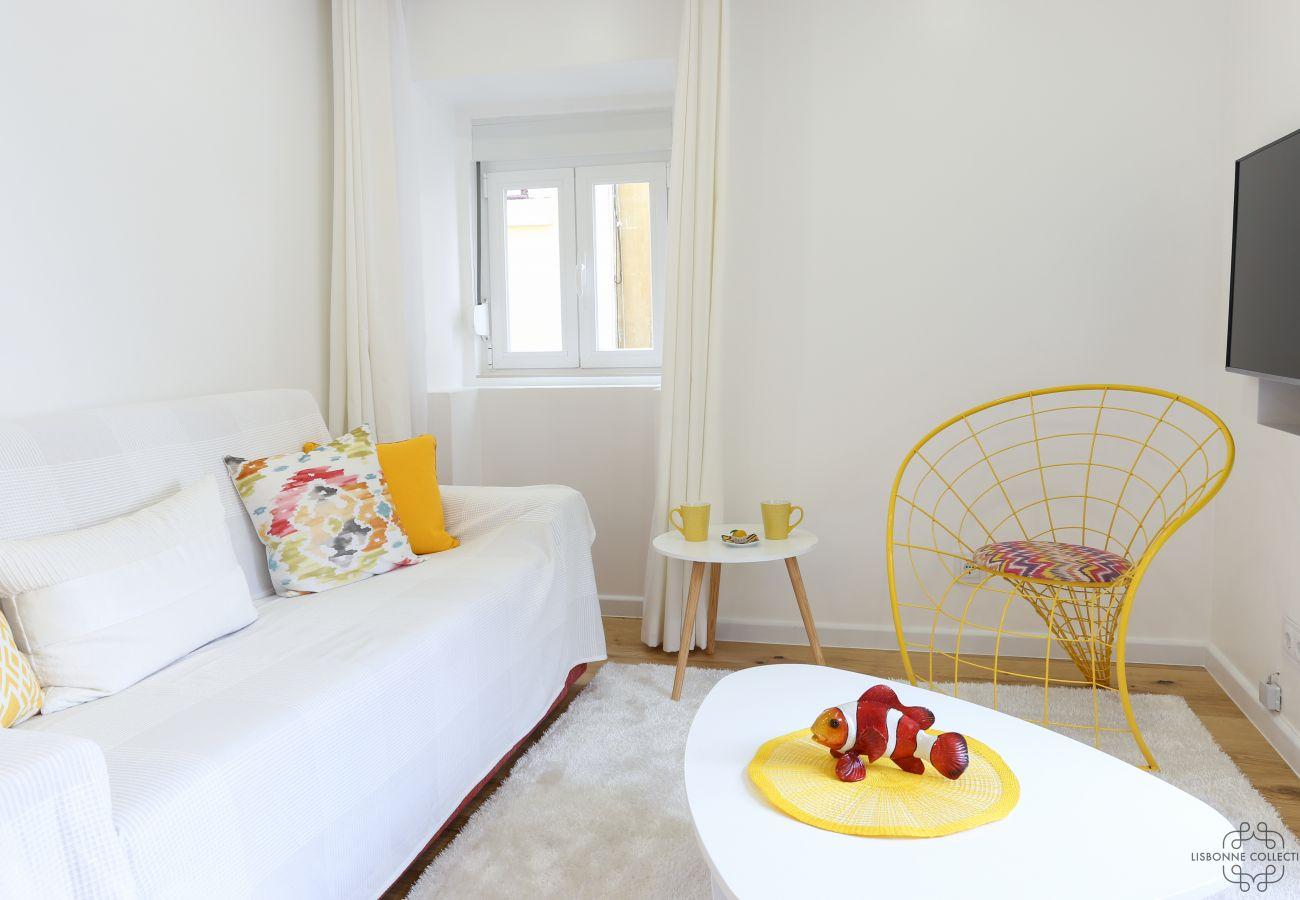 Apartamento em Lisboa de alto nível e prestígio