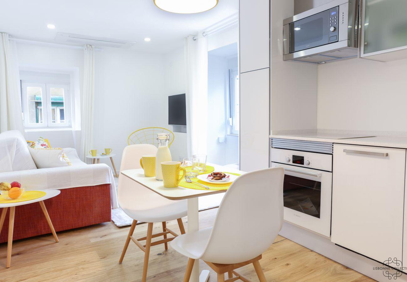 aluguer de luxo de alto nível com uma cozinha funcional