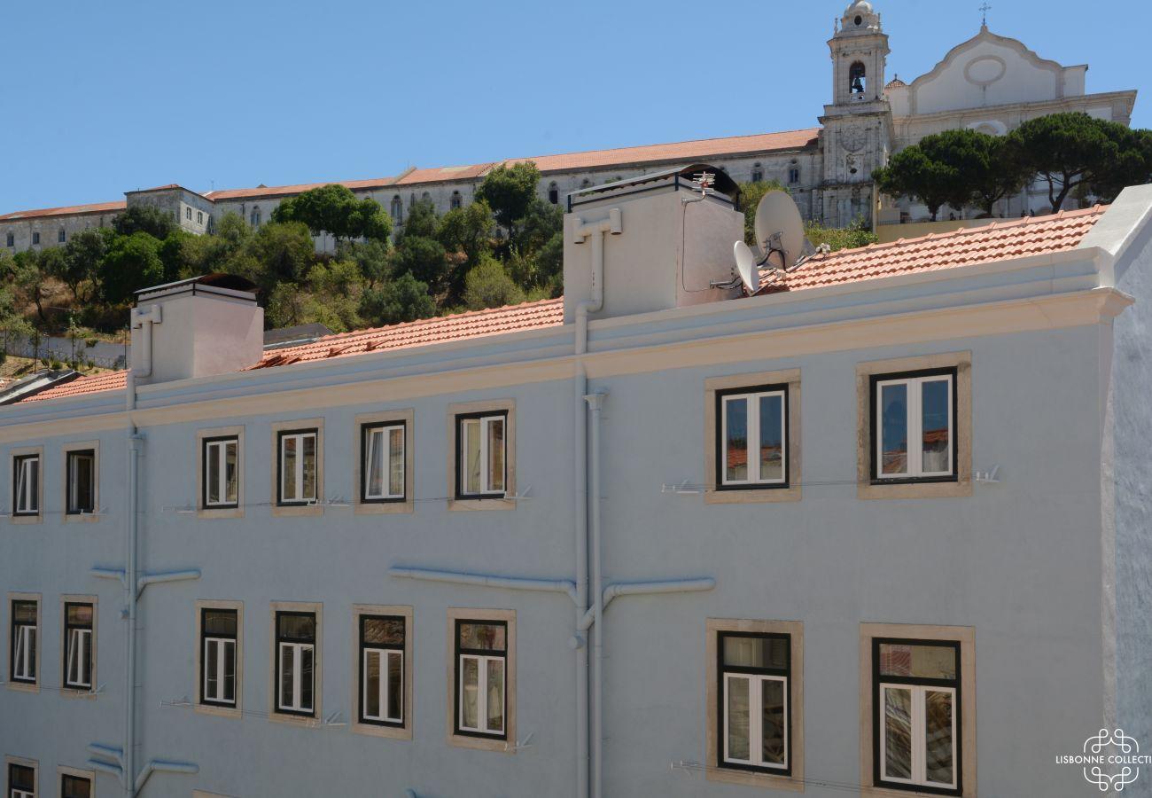 Bairro da Graça no coração da cidade da capital portuguesa