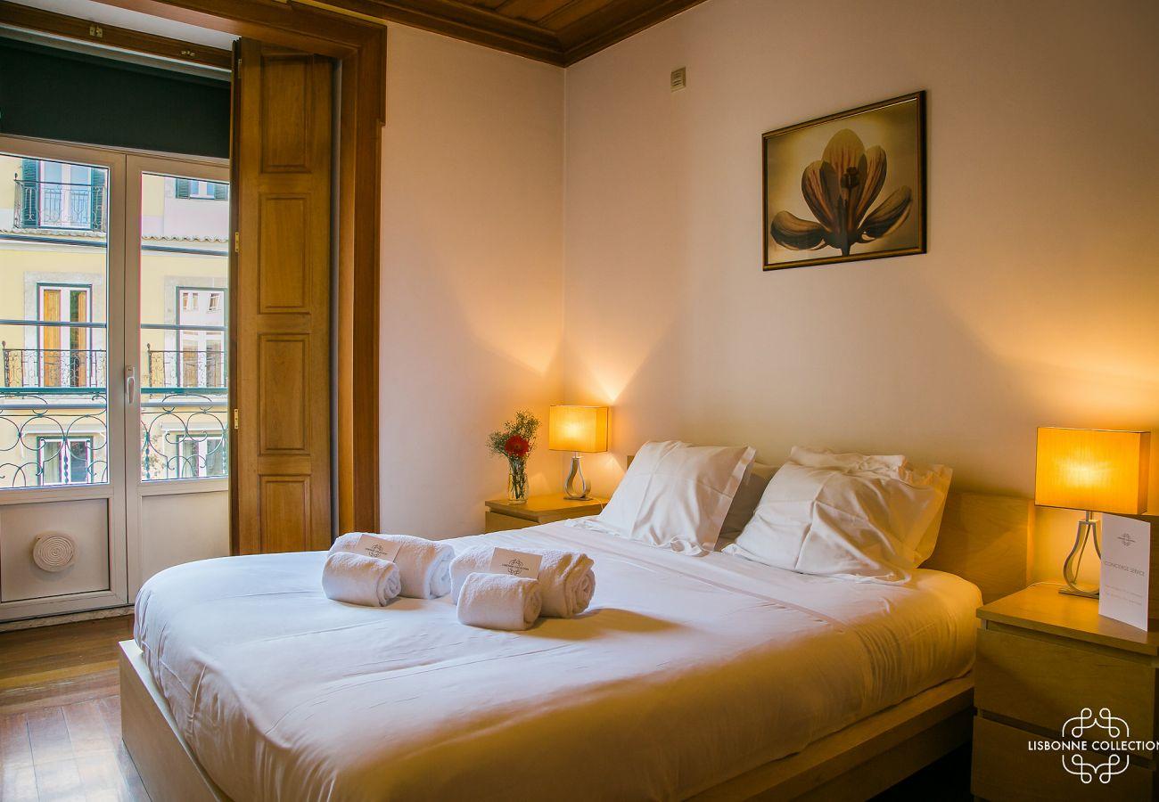 Luxuoso quarto localizado perto do castelo da capital portuguesa
