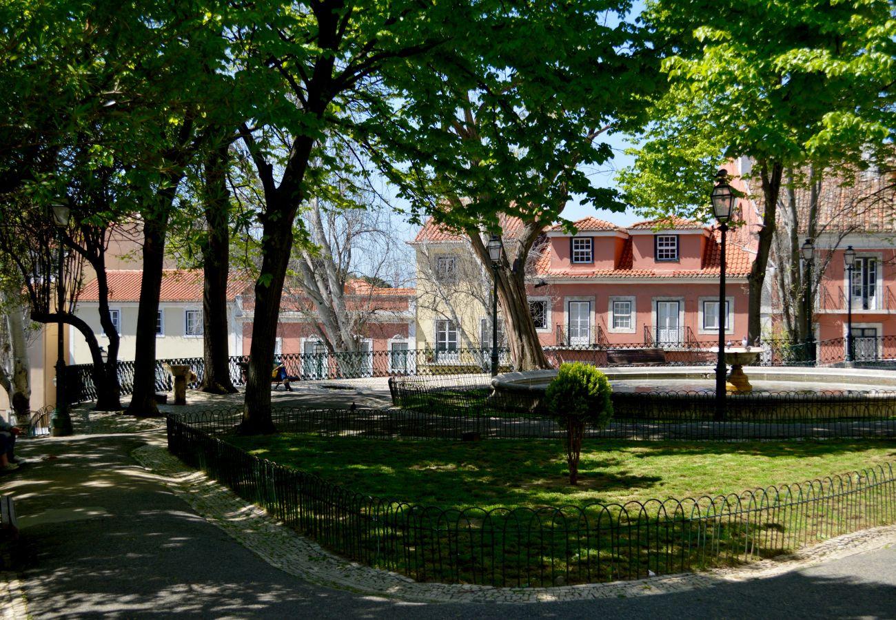 Parque verde no histórico e prestigiado bairro da Graça