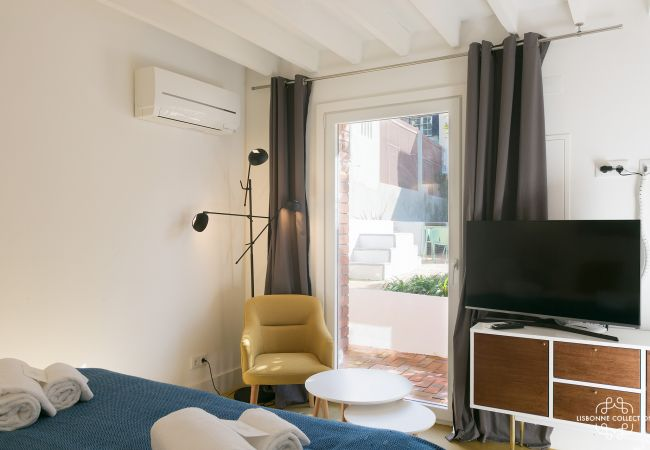 Estúdio em Lisboa - Pedro Alexandrino Studio Terrace 29 by Lisbonne Collection