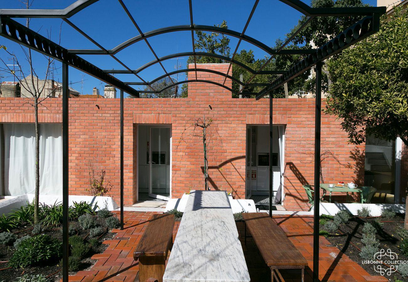 Prestigioso jardim high-end em Lisboa
