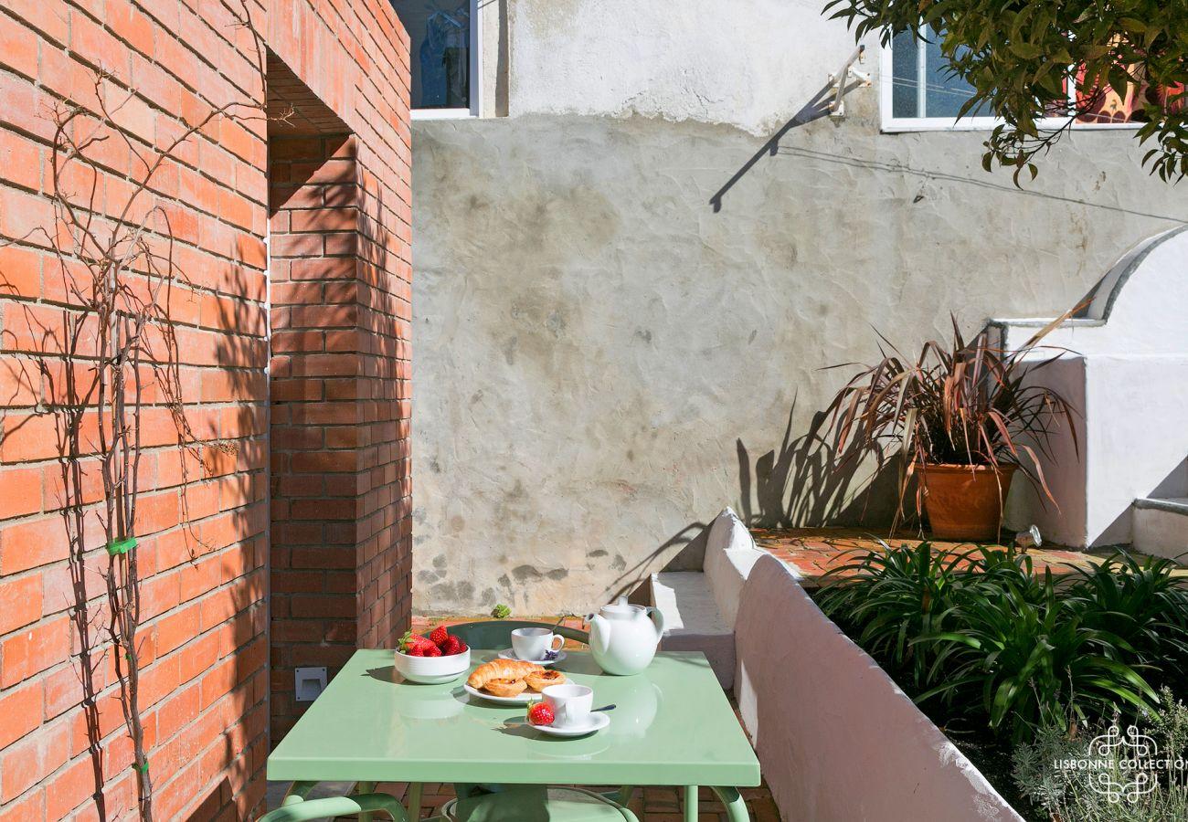 Estúdio de aluguer de terraços na capital portuguesa para férias