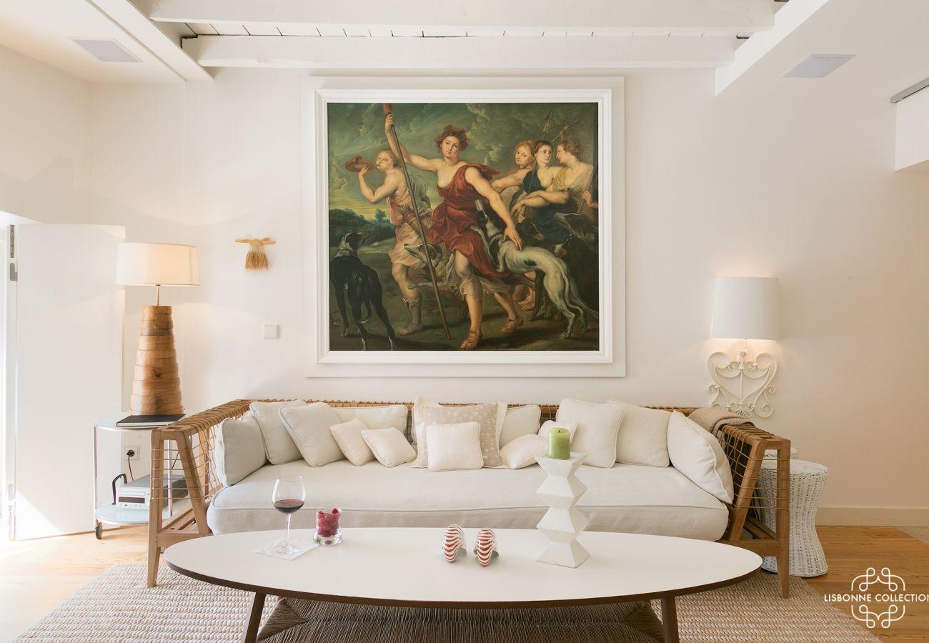 Alojamento de luxo para alugar no centro de Lisboa