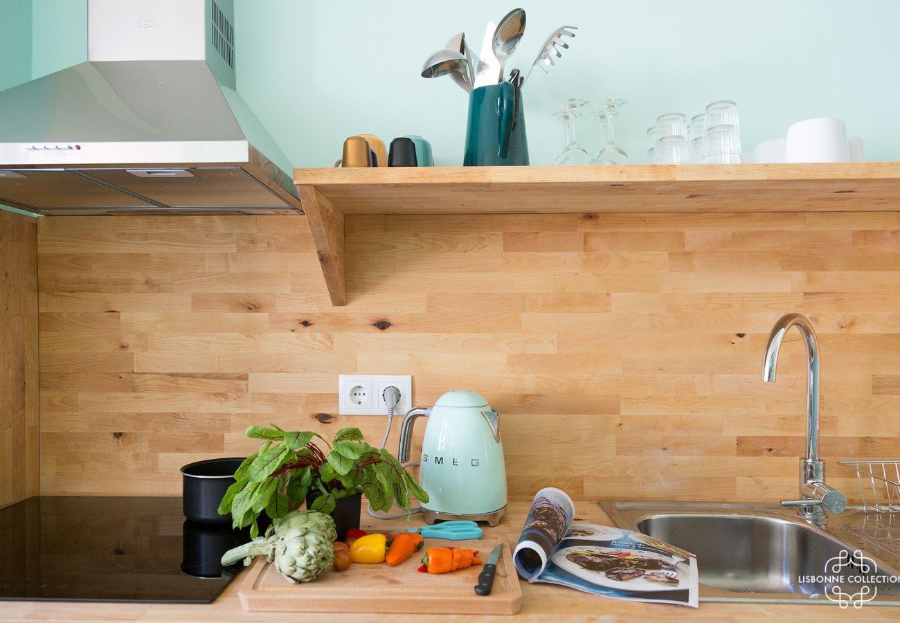 60 designer de cozinha totalmente equipada para férias em família
