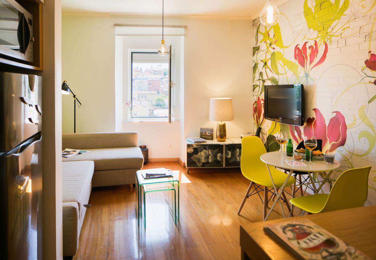 Apartamento espaçoso e design para alugar no centro de Lisboa