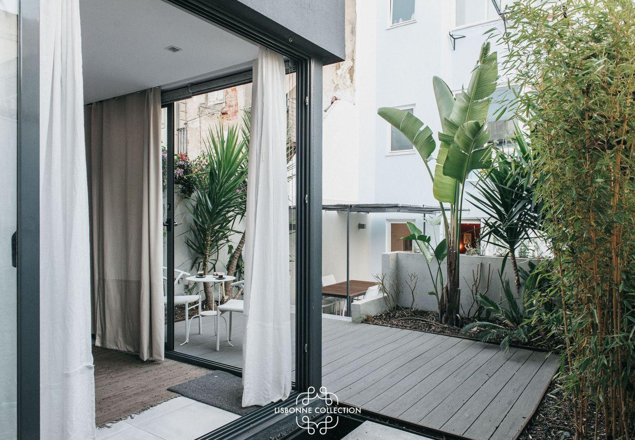 Terraço high-end disponível para alugar no centro da cidade