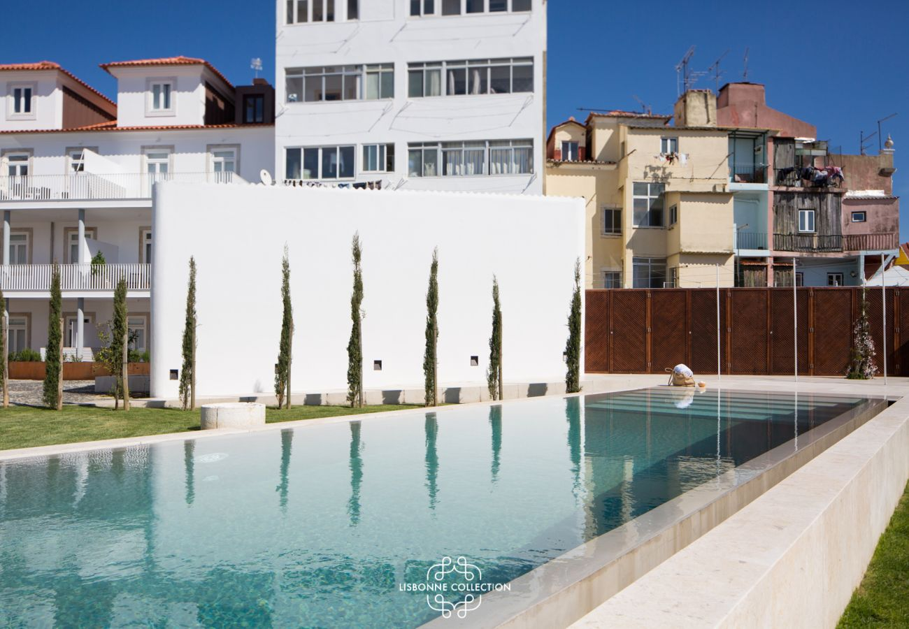 Apartamento em Lisboa - Central Apartment with Parking, Terrace and swimming pool 56 by Lisbonne Collection
