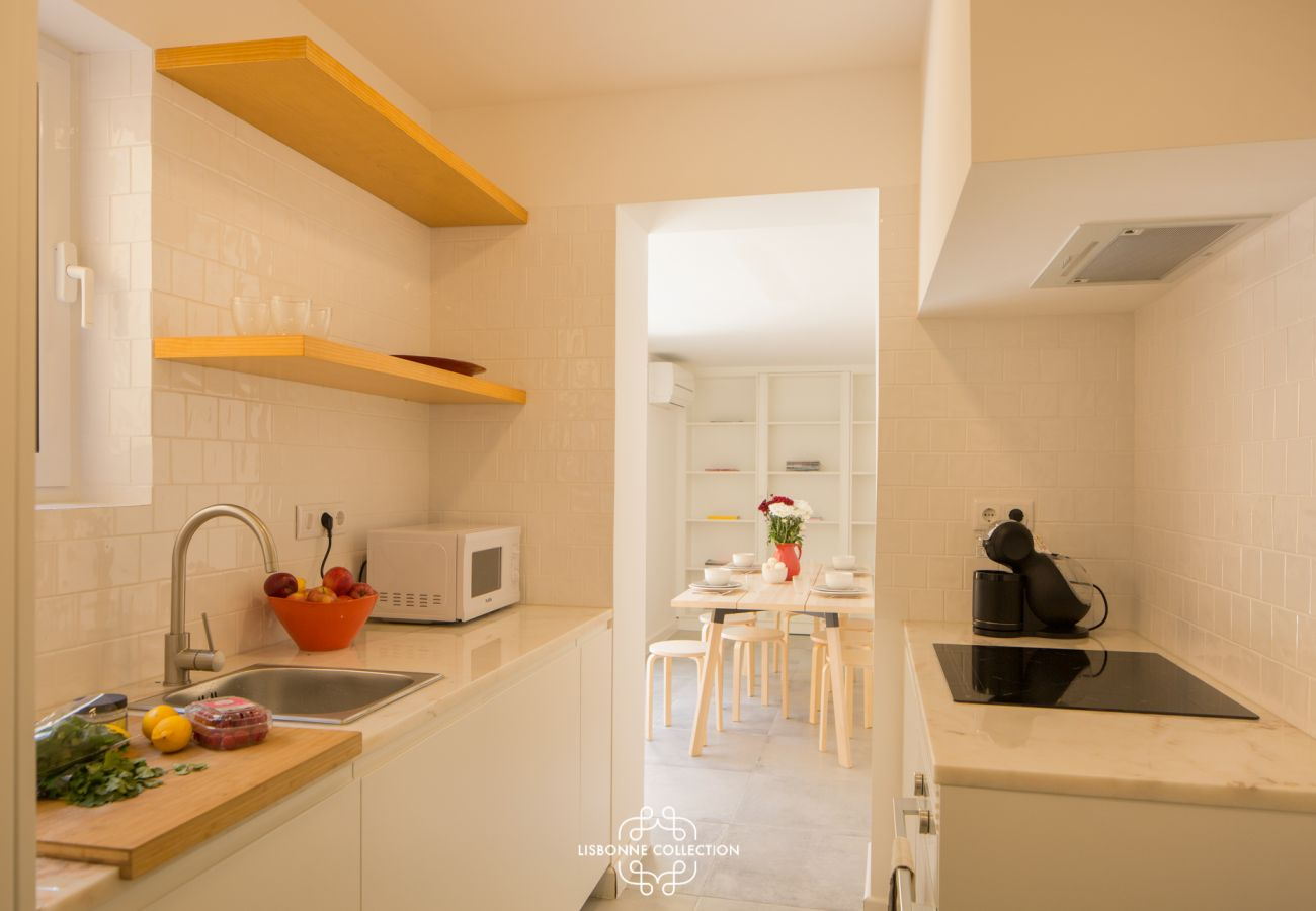 Apartamento em Lisboa - Sleek and Comfortable Pateo 51 by Lisbonne Collection