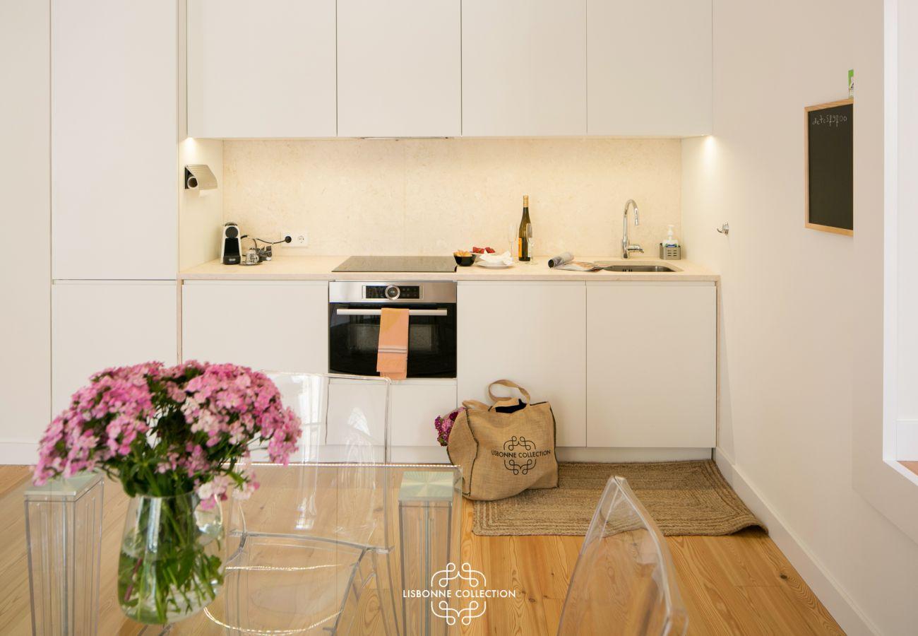 Espaço luminoso e acolhedor ideal para umas férias em família em Lisboa