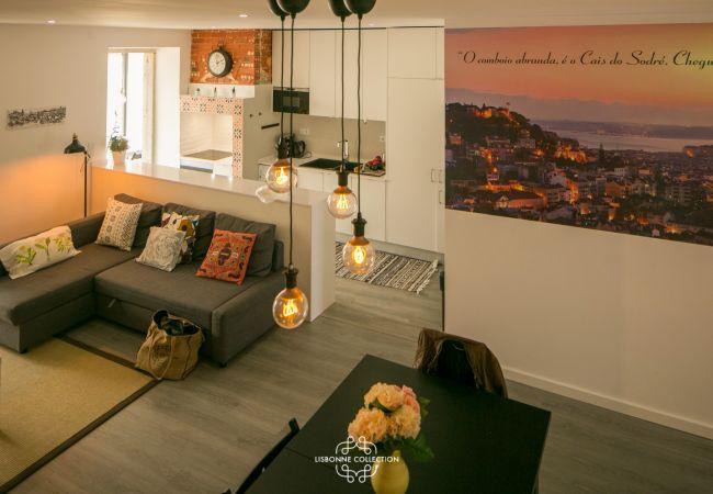 Apartamento em Lisbon - Penha de França Trendy Duplex With Terrace 74 by Lisbonne Collection